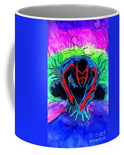 Spider-man 2099 Illustration Edition Coffee Mug by Justin Moore