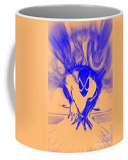 Spider-man T B Blast Coffee Mug by Justin Moore