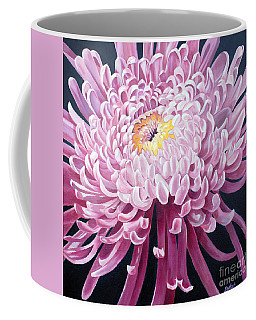 Coffee Mug featuring the painting Spider Mum by Debbie Hart
