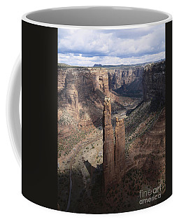 Spider Rock, Canyon De Chelly Coffee Mug