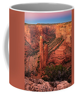 Spider Rock Sunset Coffee Mug by Alan Vance Ley