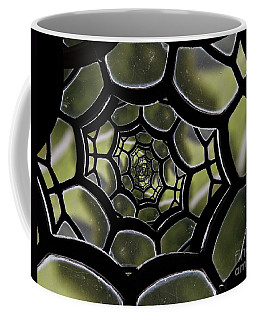 Coffee Mug featuring the photograph Spider's Web. by Clare Bambers