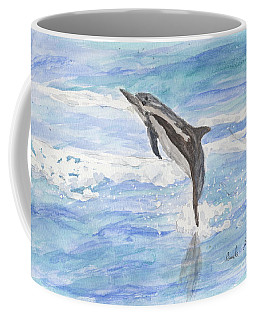 Spinner Dolphin Coffee Mug