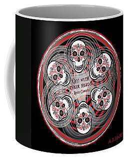 Spinning Celtic Skulls Coffee Mug