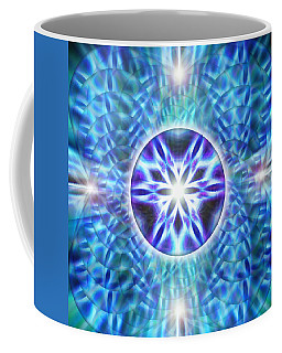 Coffee Mug featuring the drawing Spiral Compassion by Derek Gedney