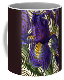 Spiral Iris Coffee Mug