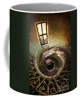 Spiral Staircaise With A Window Coffee Mug