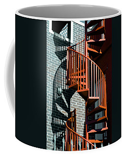 Spiral Stairs - Color Coffee Mug
