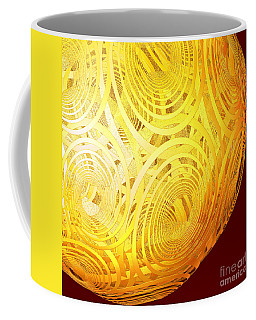 Spiral Sun By Jammer Coffee Mug by First Star Art