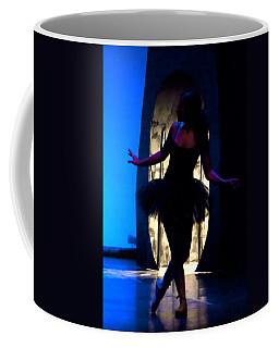 Spirit Of Dance 3 - A Backlighting Of A Ballet Dancer Coffee Mug