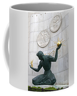 Spirit Of Detroit Monument Coffee Mug