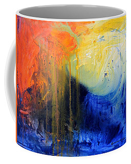 Spirit Of Life - Abstract 7 Coffee Mug by Kume Bryant