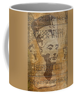 Spirit Of Nefertiti Egyptian Queen   Coffee Mug