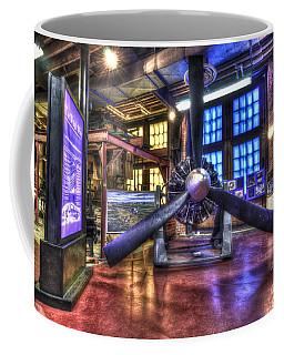 Spirit Of St.louis Engine Coffee Mug