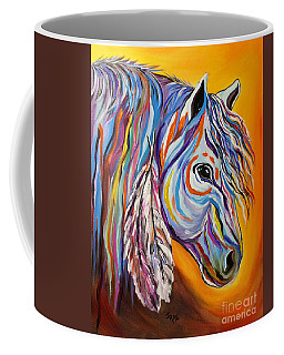 'spirit' War Horse Coffee Mug