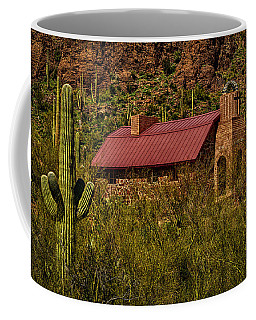 Coffee Mug featuring the photograph Spiritual Oasis by Mark Myhaver