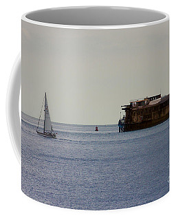 Spitbank Fort Martello Tower Coffee Mug by Terri Waters