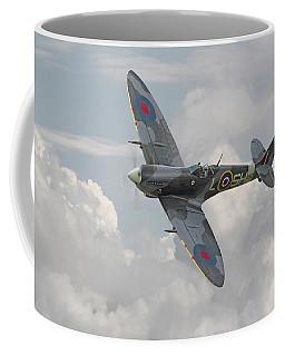 Spitfire - Elegant Icon Coffee Mug by Pat Speirs