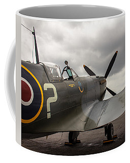 Spitfire On Display Coffee Mug