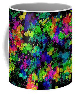 Coffee Mug featuring the photograph Splatter by Mark Blauhoefer