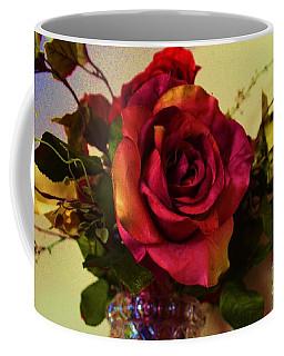 Splendid Painted Rose Coffee Mug