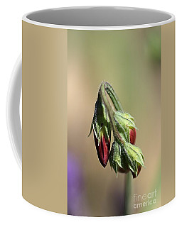 Coffee Mug featuring the photograph Split Pea by Joy Watson