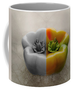 Split Pepper Coffee Mug