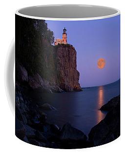 Split Rock Lighthouse - Full Moon Coffee Mug