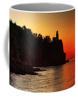 Split Rock Lighthouse - Sunrise Coffee Mug