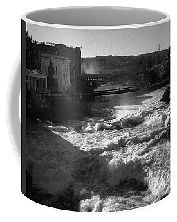 Spokane Falls Spring Flow Coffee Mug