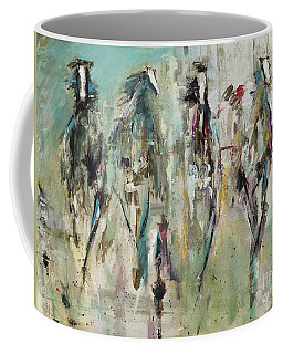 Spooked Coffee Mug by Frances Marino