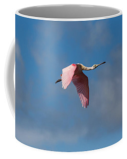 Coffee Mug featuring the photograph Spoonie In Flight by John M Bailey