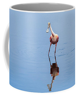 Spoonie Striking A Pose Coffee Mug by John M Bailey