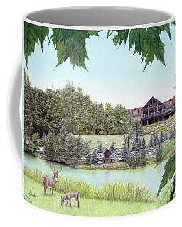 Sporting Clays At Seven Springs Mountain Resort Coffee Mug by Albert Puskaric