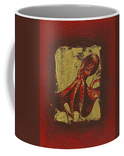 Spotted Red Octopus Coffee Mug
