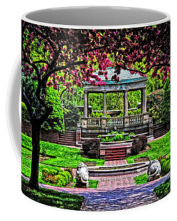 Coffee Mug featuring the photograph Spring At Lynch Park by Mike Martin
