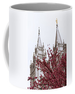 Spring At The Temple Coffee Mug