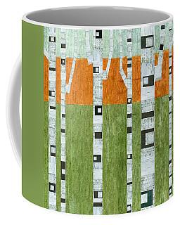 Spring Birches Coffee Mug