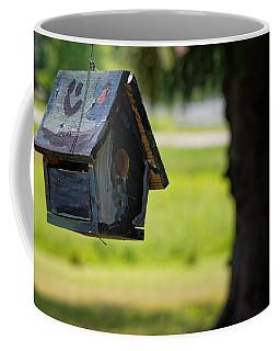 Coffee Mug featuring the photograph Spring Birdhouse by Lars Lentz