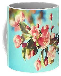 Spring Blossoms In Digital Watercolor Coffee Mug