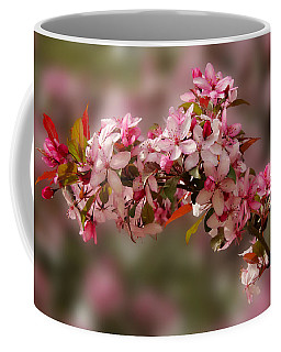 Cheery Cherry Blossoms Coffee Mug