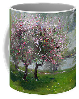 Spring By The River Coffee Mug