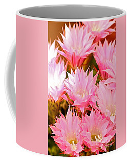 Spring Cactus Coffee Mug by Michael Cinnamond