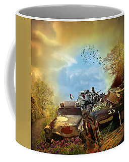 Spring Cleaning - Landscape Coffee Mug