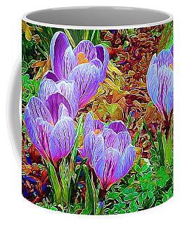 Spring Crocuses Coffee Mug