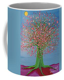 Spring Fantasy Tree By Jrr Coffee Mug by First Star Art