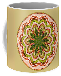 Spring Grasses Mandala Coffee Mug