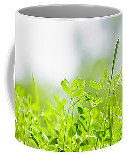 Spring Green Sprouts Coffee Mug