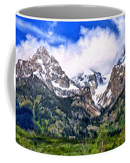 Spring In The Grand Tetons Coffee Mug by Michael Pickett
