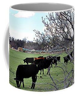 Spring In The Hay Meadow Coffee Mug